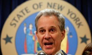 New York's attorney general, Eric Schneiderman, stressed that 'the president has no authority under the US constitution to pardon state crimes'.
