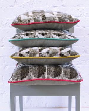 Cushions, by Rowenna Mason