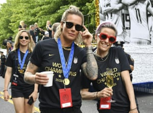 In March, all 28 players on the women's team filed a gender discrimination lawsuit against the US Soccer Federation, demanding their compensation equal that of their male counterparts
