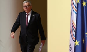 Jean-Claude Juncker arrives at the the G20 summit