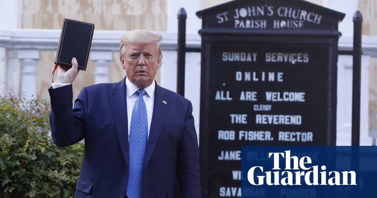 US seeks dismissal of cases against Trump for clearing Lafayette Square