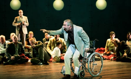 Adams' opera The Death of Klinghoffer, staged by Scottish Opera at the Edinburgh international festival in 2005.