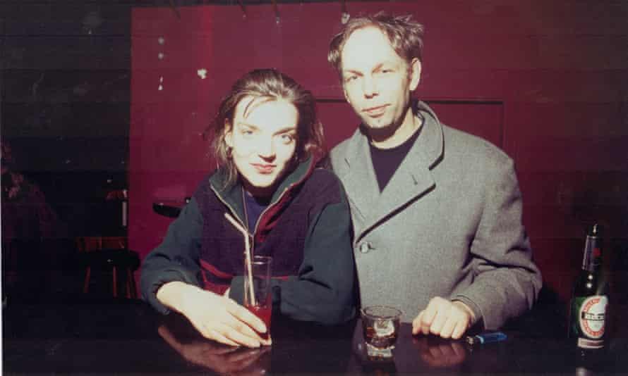 Tresor founder Dimitri Hegemann with manager Regina Baer in 1992