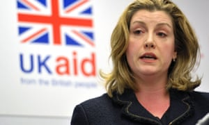 International development secretary Penny Mordaunt