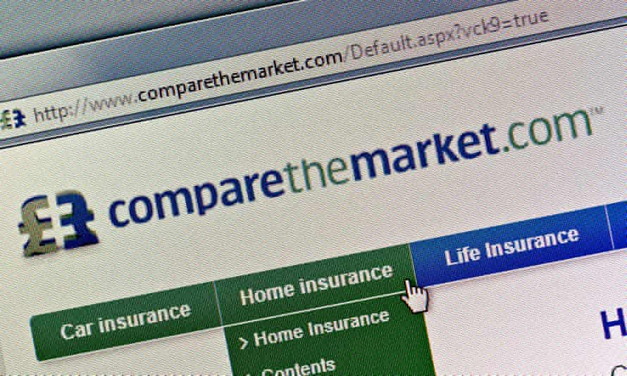 Pointing the finger at home insurance on ComparetheMarket.