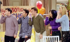 A still from the episode: 'The One Where They All Turn Thirty.'