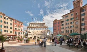 The Hotel Colosseo, Europa-Park, Germany. With 350 rooms it's the biggest hotel not just in the resort but in the region.
