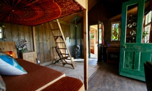 Interior of The Duck Hut, Shropshire