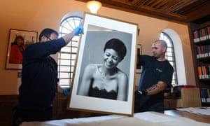 A portrait of the actor Thandie Newton.