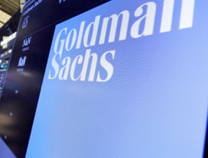 The logo for Goldman Sachs.