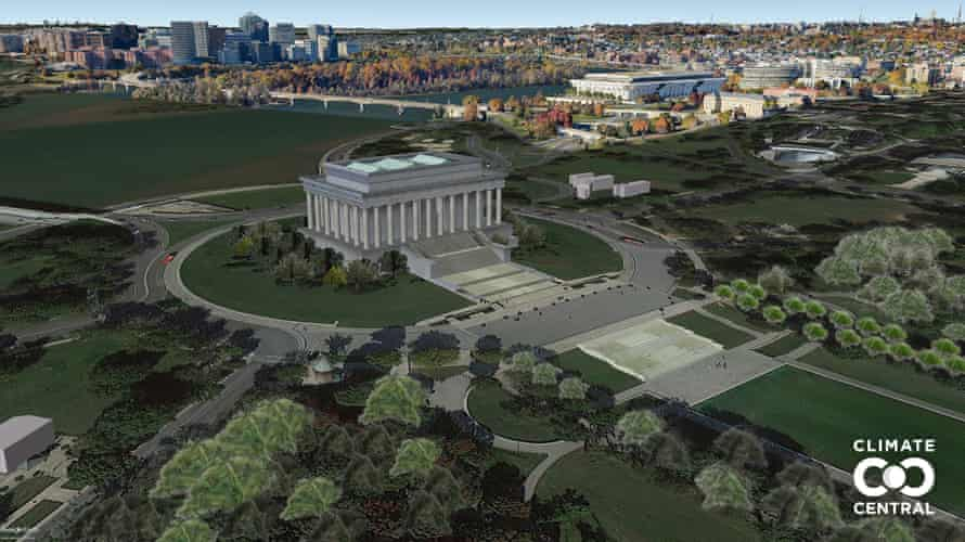 POF USA DC Washington DC Lincoln Memorial L13 present Unlabeled