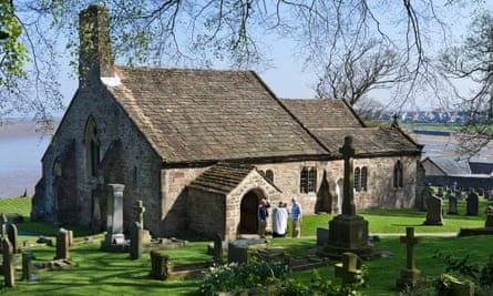 """St Peter's church in Heysham, near Morecambe, Lancashire: 'The author is reduced to suggesting that he thinks the future Europe will stand or fall on its """"attitude to church buildings"""".'"""
