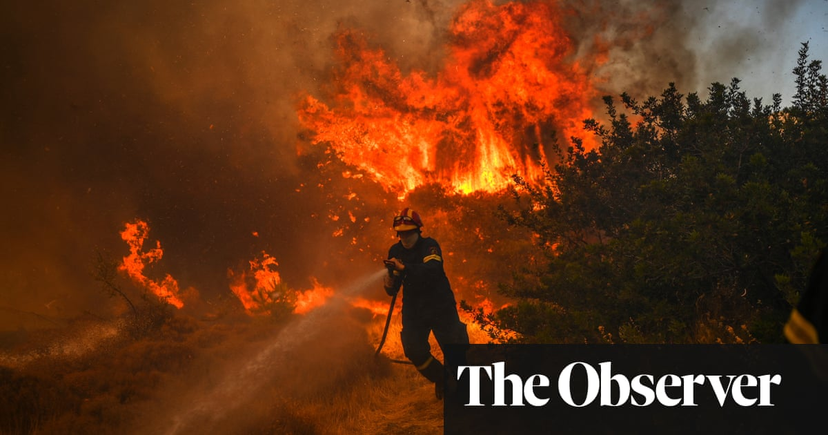Greece plans to name heatwaves in the same way as storms