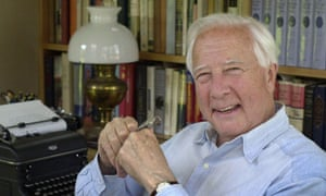 David McCullough, pictured in his library in West Tisbury, Massachusetts.
