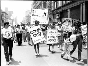 Demonstration in the wake of the Stonewall Riots, early 1970s