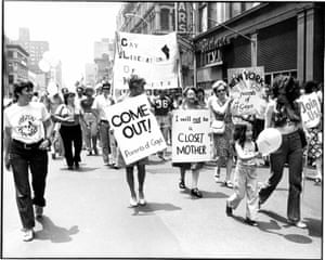 Gay rights demonstration 1970s