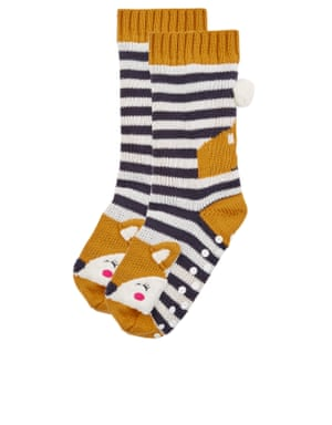 Fox socks, £14 accessorize.com