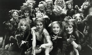 The original cast of the musical Cats