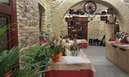 La tavernaccia, Rome.  a/