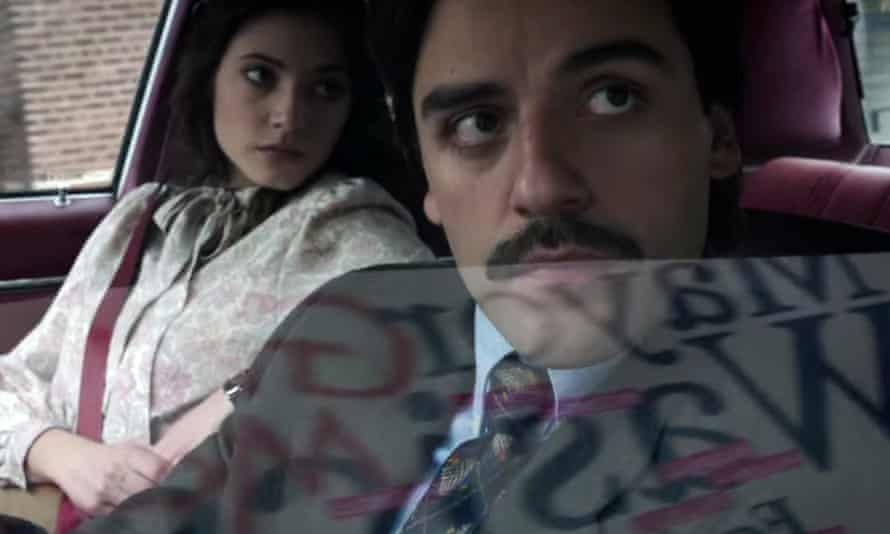 Vodka and stomach pills … Oscar Isaac and Carla Quevedo in Show Me a Hero.