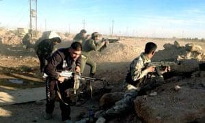 US airstrikes Islamic State Isis Ramadi Iraq