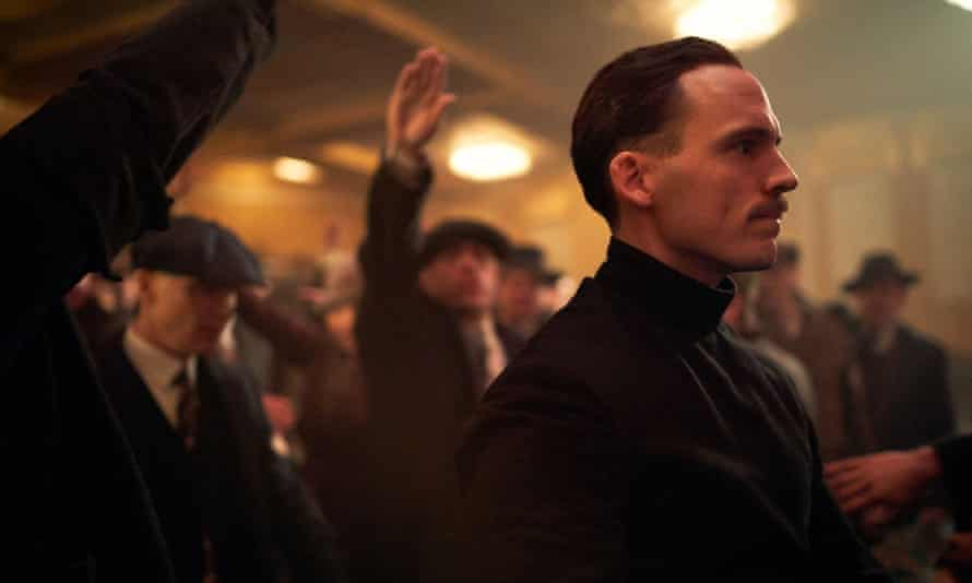 It was never going to end any other way ... Oswald Mosley (Sam Clafin).
