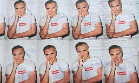 """Morrissey says he 'pleaded with Supreme not to use it"""""""