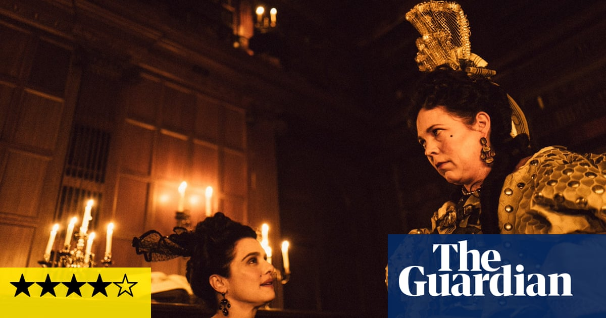 The Favourite review – Olivia Colman is priceless in punk