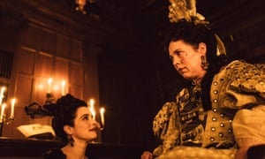 Rachel Weisz and Olivia Coleman in The Favourite 2018 film still
