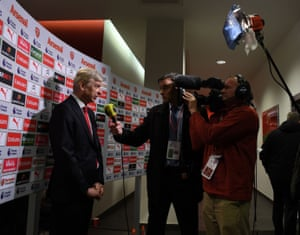 'Yes, but think about Arsenal Fan TV.'