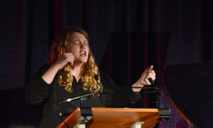 'The showstopper': Kate Tempest performs her poem Brand New Ancients.