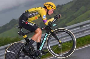 Primoz Roglic of Jumbo-Visma, who have strengthened their squad this summer.