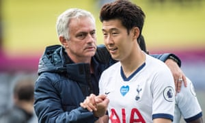 José Mourinho believes Son Heung-min wants to extends his stay at Spurs