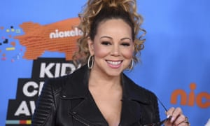 'Until recently I lived in denial and isolation' ... Mariah Carey at the Kids' Choice Awards in Inglewood, California, on 24 March.