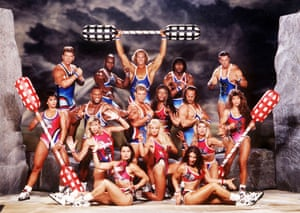 The 1998 lineup of Gladiators