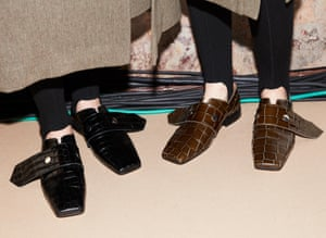 The masculine shoe is this season's key accessory