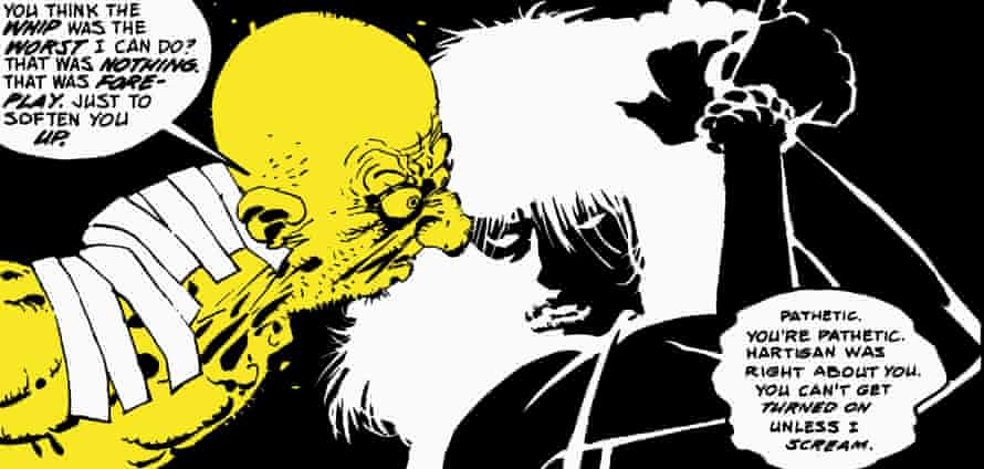 A panel from Sin City