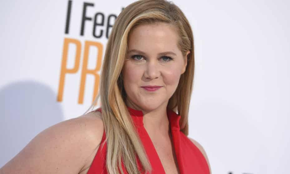 Amy Schumer arrives at the world premiere of I Feel Pretty at the Westwood Village Theater in Los Angeles in April 2018