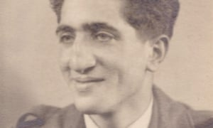 Maurice Podro in 1947. He grew up in the East End of London, where young Jews quickly learned how to fight against fascist aggressors
