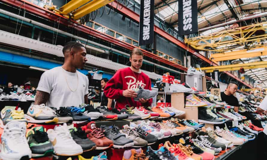 Sneakerness sneaker convention in Amsterdam 2017