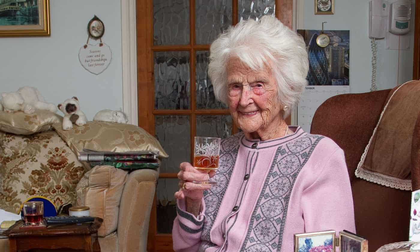 Britain's oldest person dies aged 112