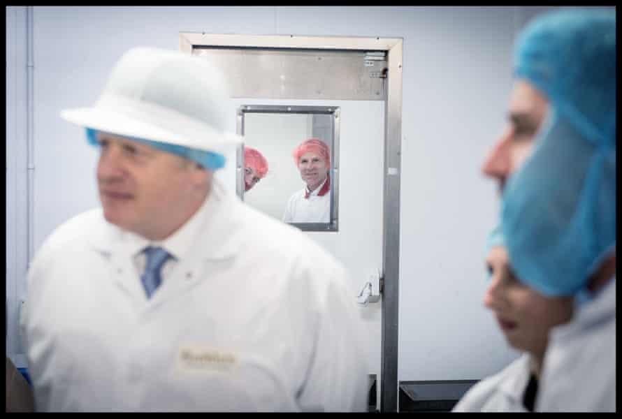 Johnson visits Rodda's Cornish Clotted Cream, near Redruth, November 27