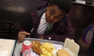 Elijah Quashie in an episode of his YouTube series The Pengest Munch