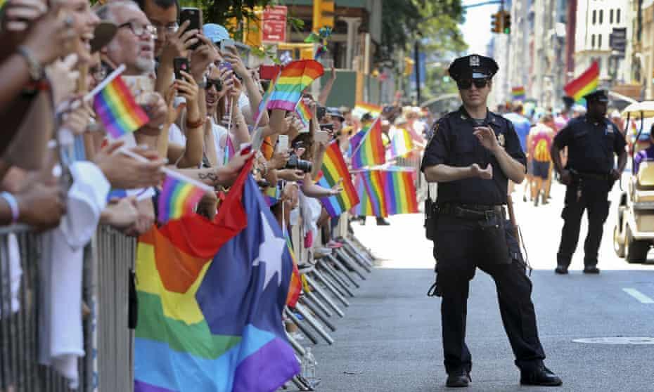 New York City Pride Parade, in New York City
