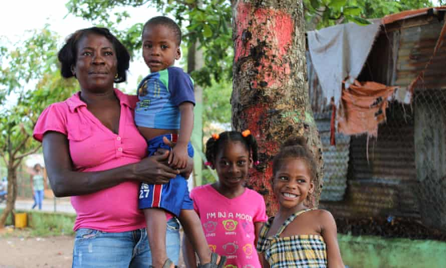 Mérida Baltazar came as a child to the Dominican Republic from Haiti with her parents. She has no identity document and has never been able to register her five children in the Dominican civil registry. They are stateless.
