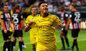 At the age of 19 Jadon Sancho has made more than 60 first-team appearances for Borussia Dortmund.