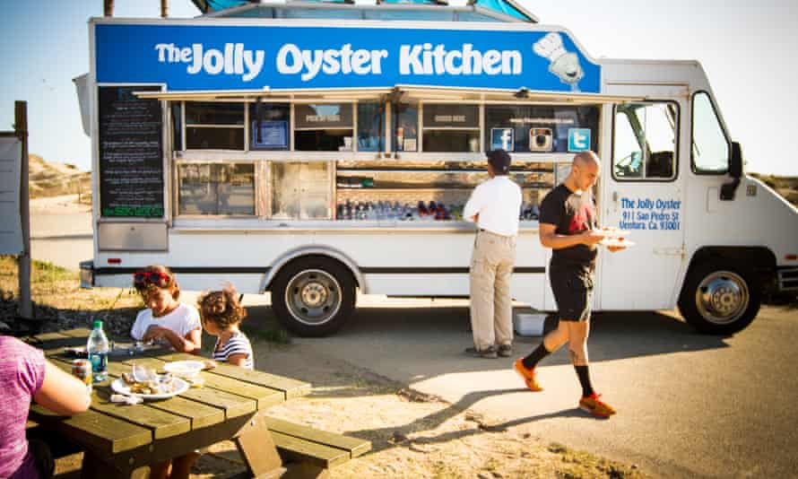 The Jolly Oyster trailer