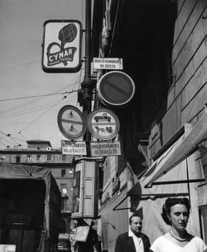 Street signs, c. 1960