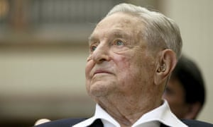 George Soros: 'I'm proud of the enemies I have.'