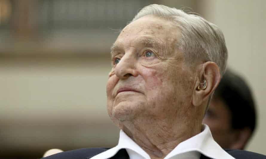 George Soros: 'I'm proud of the enemies I have.'